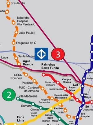 Linha 6 - Laranja do Metrô - Primeira Fase