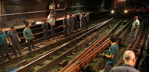 Manutenção - Metrô