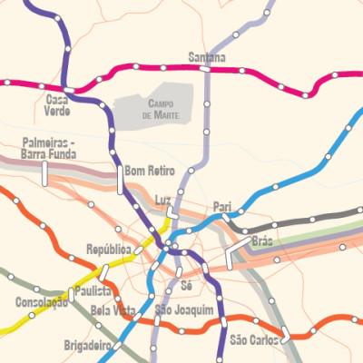 Futuras linhas do Metrô SP e CPTM: Metrô ligará Zona Norte ao Ipiranga