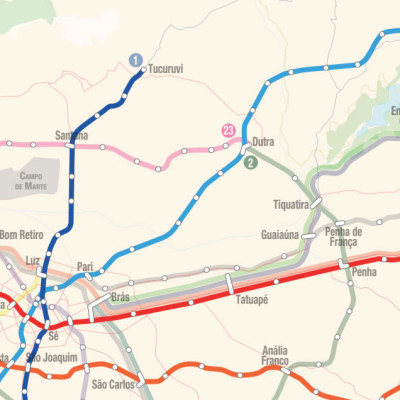 Futuras linhas do Metrô SP e CPTM: Linha 19 Celeste – O Metrô de Guarulhos