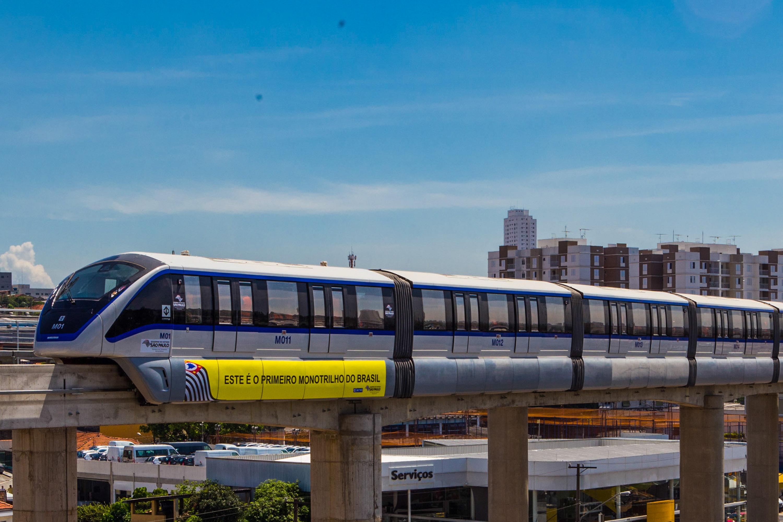 Viagem Experimental do Monotrilho - Linha 15, São Paulo.