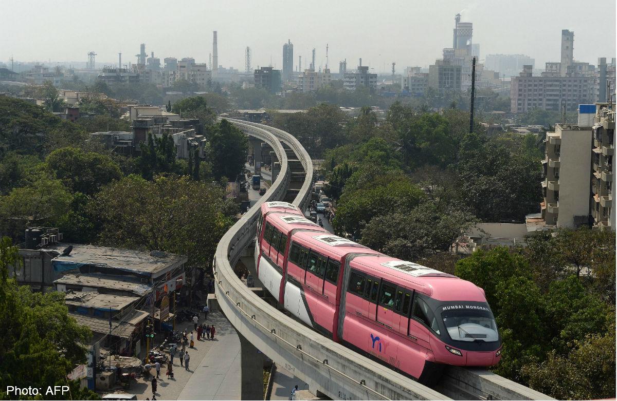 Monotrilho de Mumbai, produzido pela Scomi