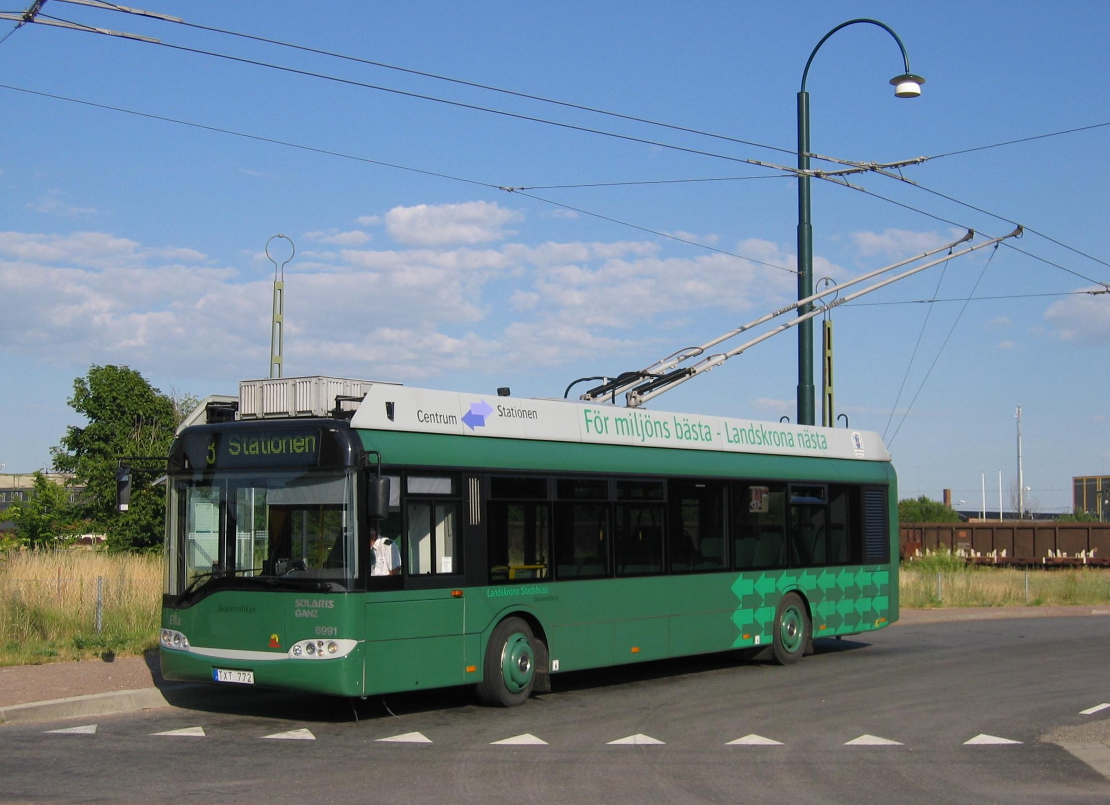 Trådbuss_Landskrona