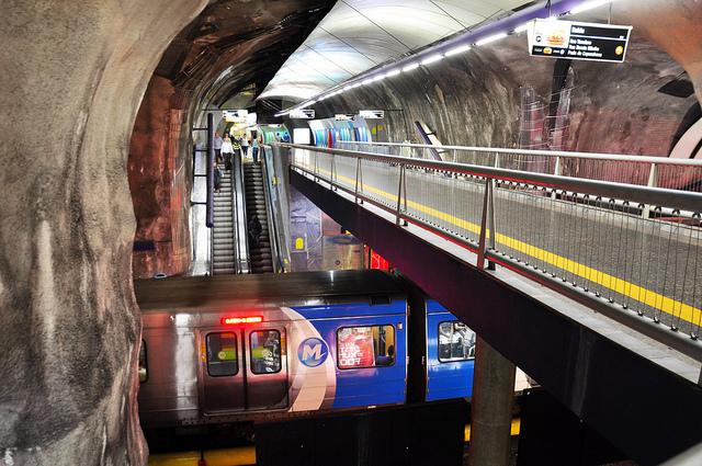 Estação Cardeal Arco Verde do Metrô Rio - Foto: Alexandre Macieira