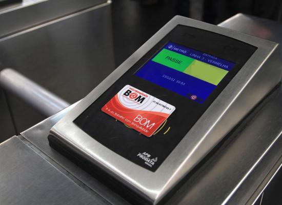 Cartão Bom terá desconto entre Ônibus e Trem/Metrô