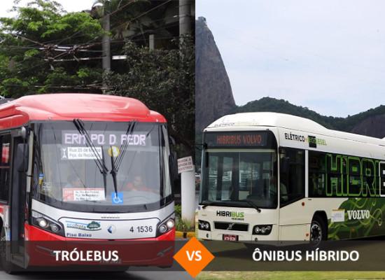 Trólebus ou Ônibus Híbrido? Veja a comparação dos modais