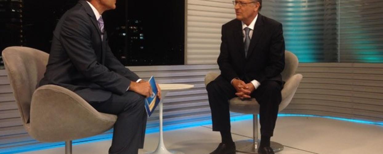 Alckmin fala sobre novo sistema de sinalização do Metrô, o CBTC, em entrevista
