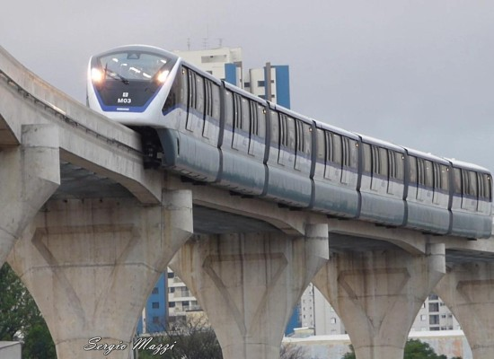 Monotrilho da Linha 15-Prata será inaugurado neste sábado (23)
