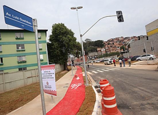 Extremo Sul de São Paulo ganha nova ciclovia