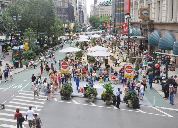 Herald Square After cultura foto: NYC / Department of Transportation