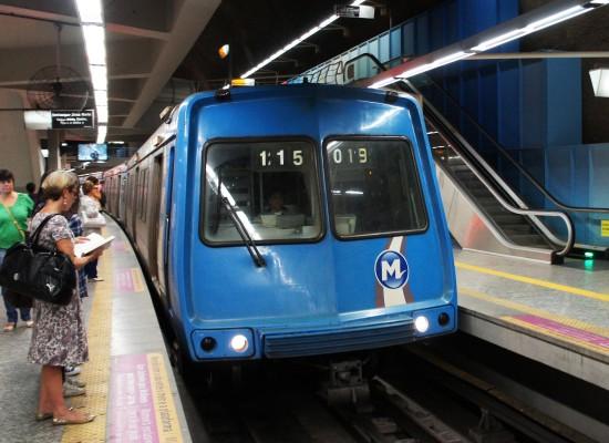 Como é andar na Linha 1 do metrô do Rio de Janeiro?
