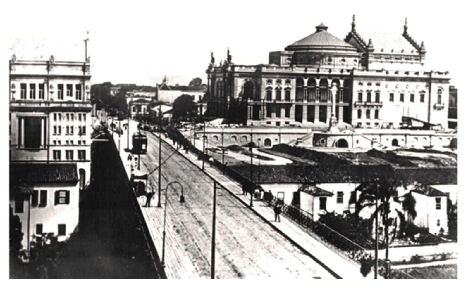 Viaduto em 1908