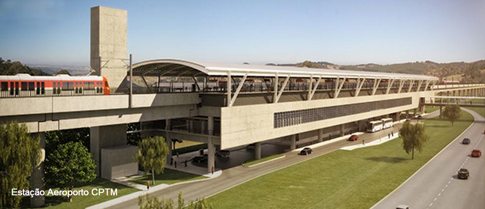 Projeção da Estação Aeroporto