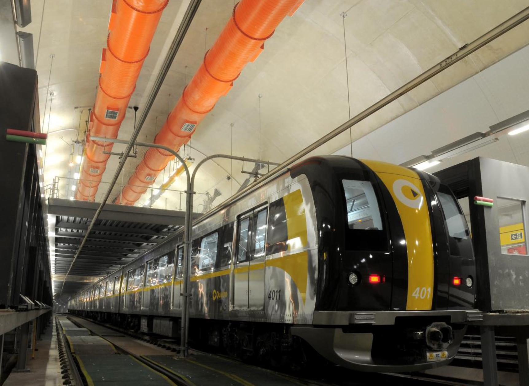 Trem da Linha 4-Amarela | Digna Imagem/Clóvis Ferreira