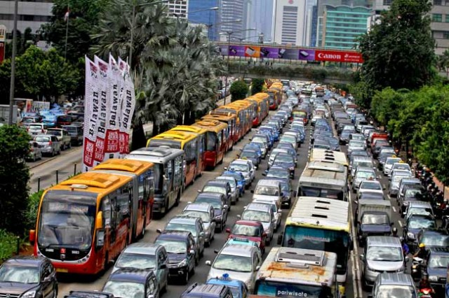 jakarta indonesia traffic - photo #42