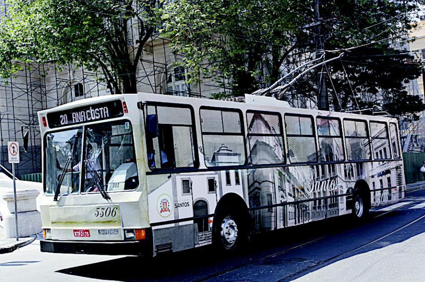 Trolebus Santos Novo Visual imagem012