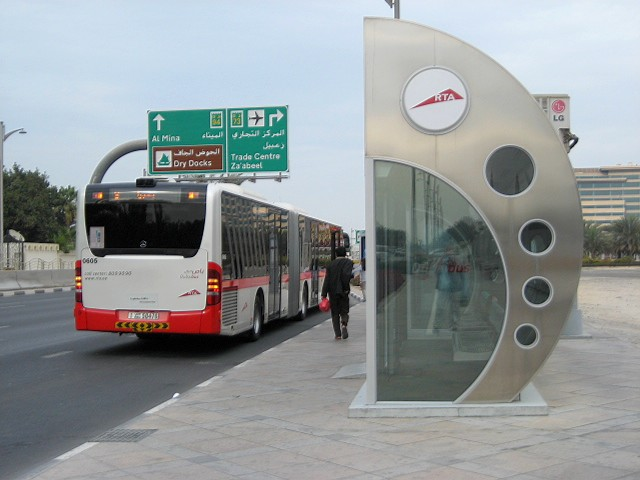 Dubai - Airconditioned bus stop shelter
