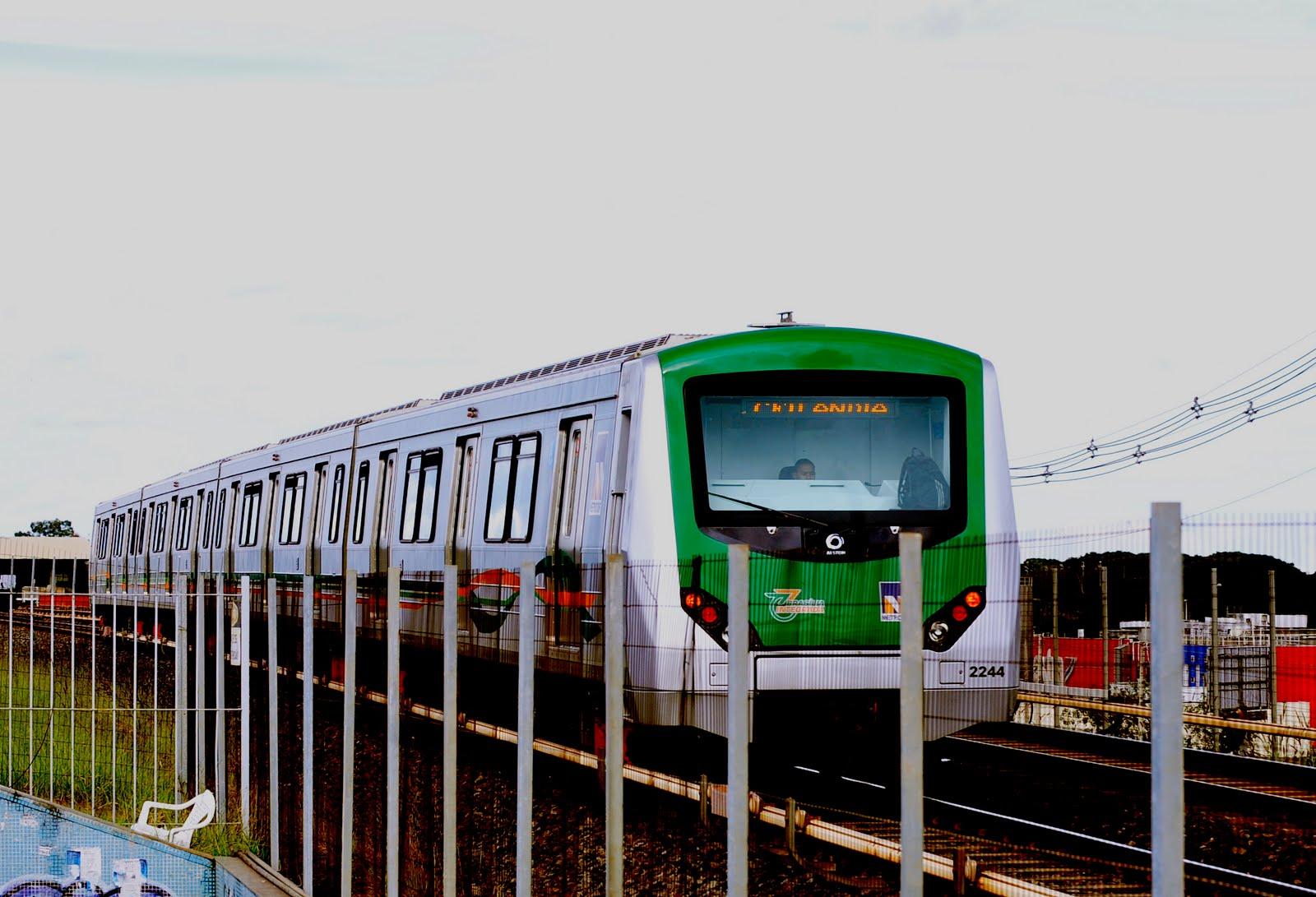 Resultado de imagem para metrô df