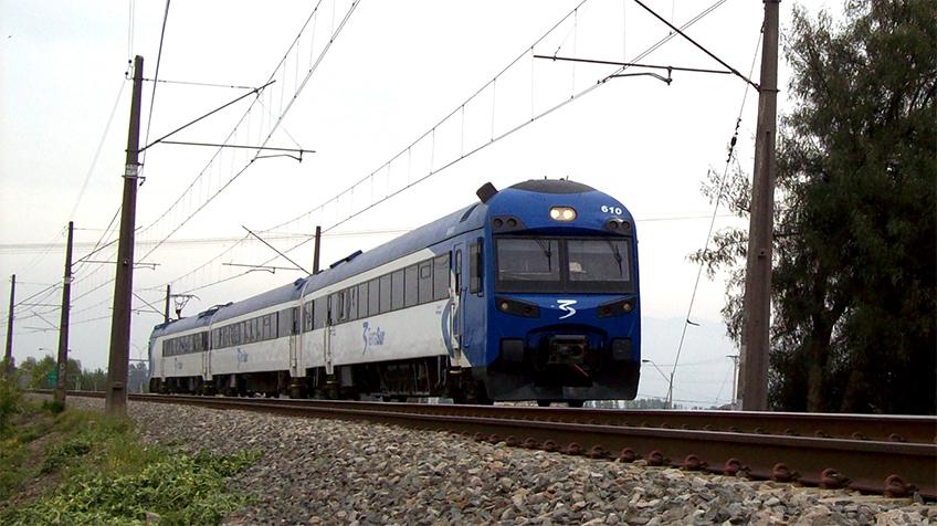 Trem de longa distância do Chile, que liga Santiago ao sul do país