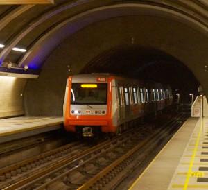 Trem da Alstom na Linha 5 - Foto: Rafael Narchi