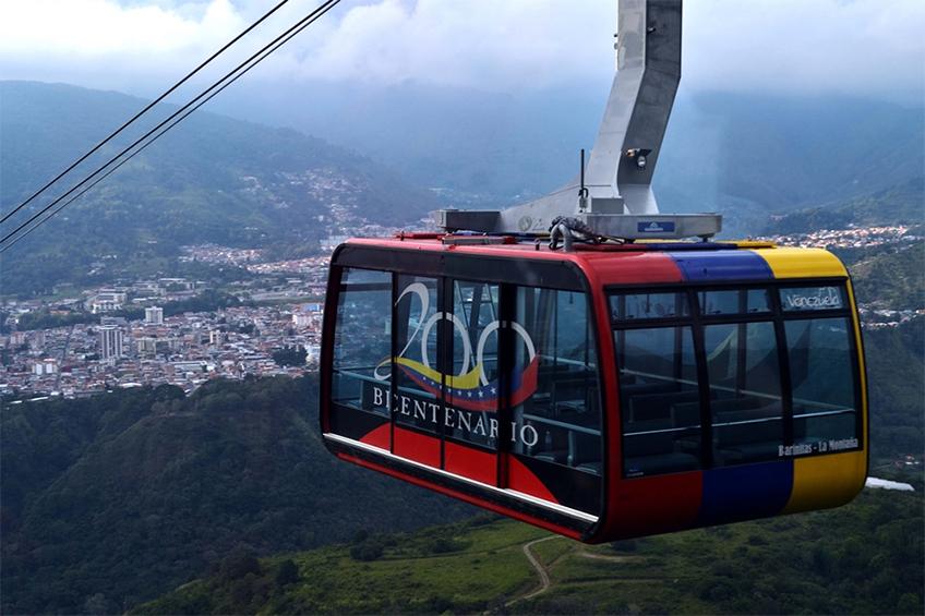 Teleférico da Venezuela, desativado.