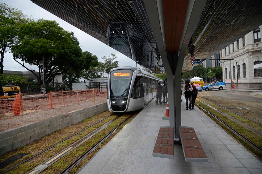 VLT em testes no Rio de Janeiro