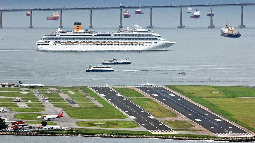 Aeroporto . Santos Dumont, no Rio de Janeiro, sem segundo lugar no ranking