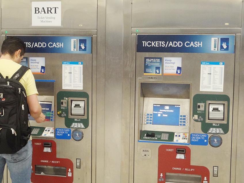 Maquinas de Autoatendimento do Bart   Foto: Caio Lobo