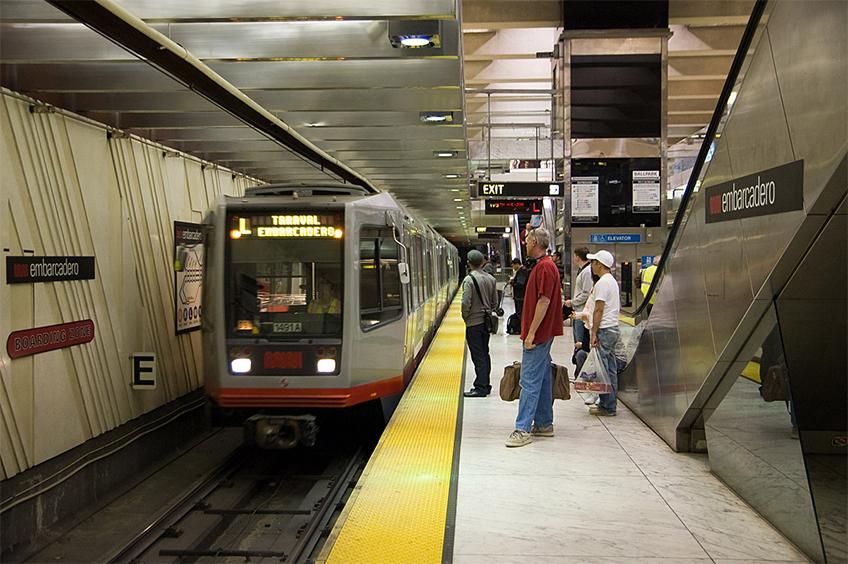 Estação Subterrânea do Muni Metro