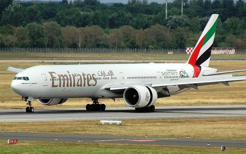 Boeing 777-300ER da Emirates