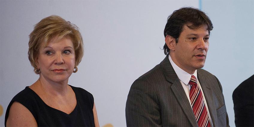A ex-prefeita e ex-petista Marta Suplicy não economiza nas críticas a atual administração