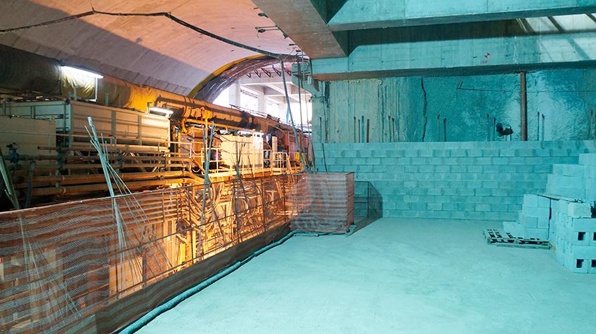 Futura plataforma da Estação Chácara Klabin   Foto: Renato Lobo