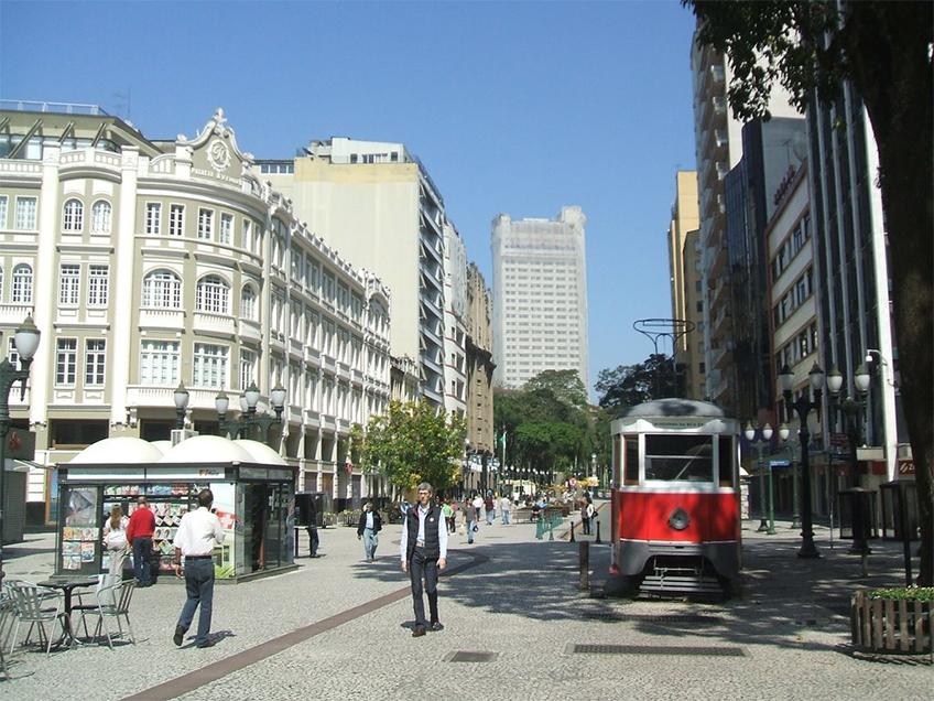 Rua XV de Novembro - Curitiba