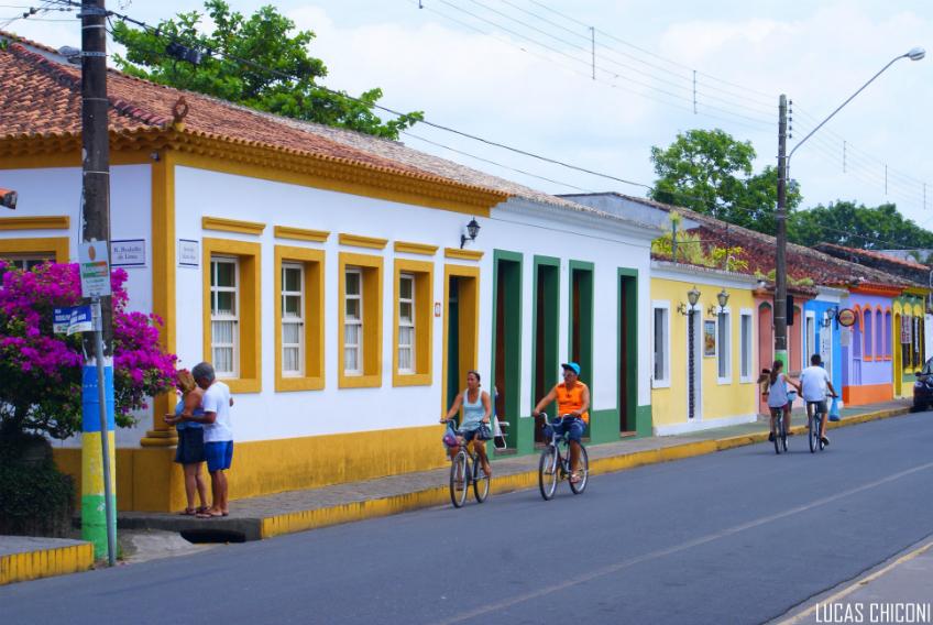 Bicicletas em Cananeia | Fotos: Lucas Chiconi