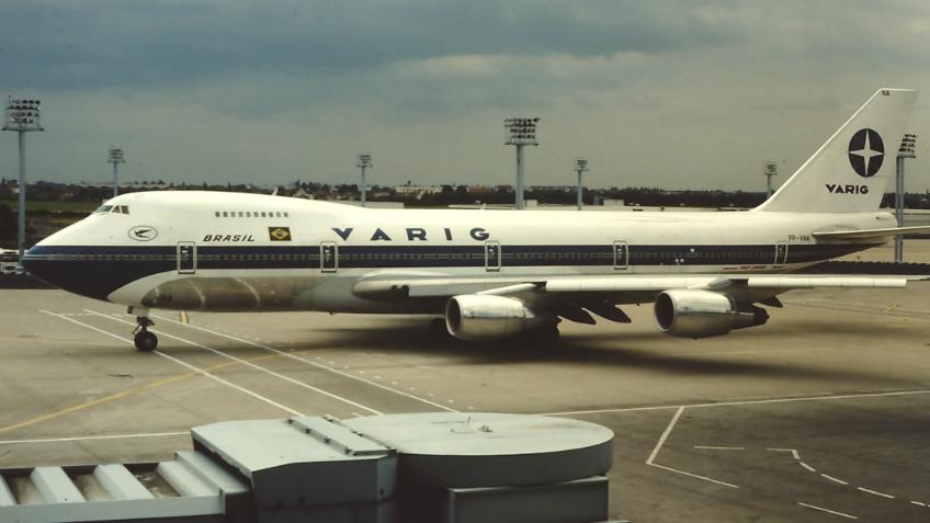 Em 1981 a Varig começou uma grande expansão com a chegada dos primeiros Boeing 747-200.