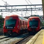 Trens em testes na Linha 7 | Foto e Colaboração de Yuuri Gabriel