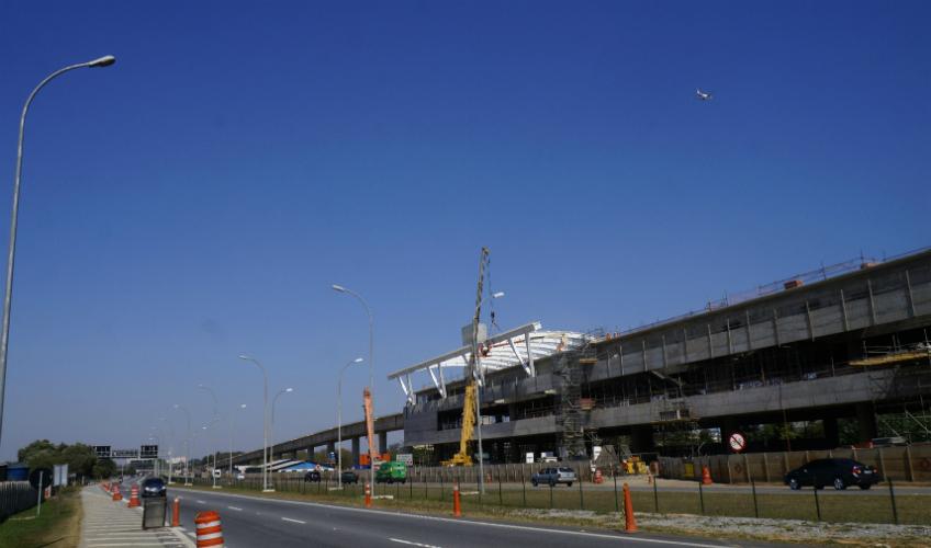 Estação Aeroporto de Guarulhos | Foto: Renato Lobo