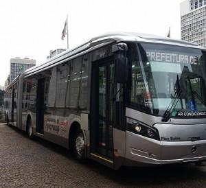 Novo ônibus SP