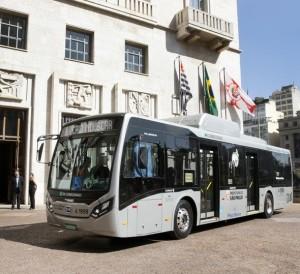 ônibus elétrico sptrans byd