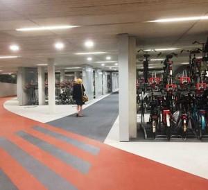 estacionamento bike ciclista holanda