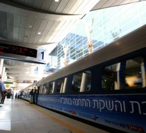 trem israel alta velocidade bala