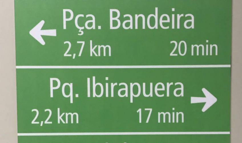 ciclovia paulista nova sinalização