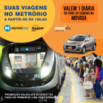 metrô rio promoção