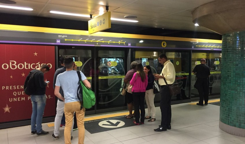 linha 4 amarela metro