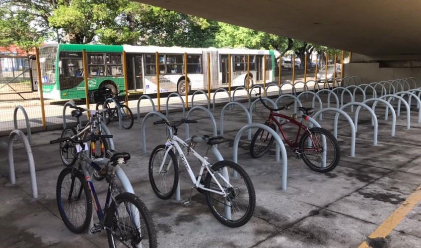 terminal sacomã bicicletário