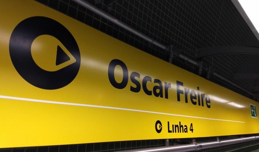 oscar freire amarela linha 4