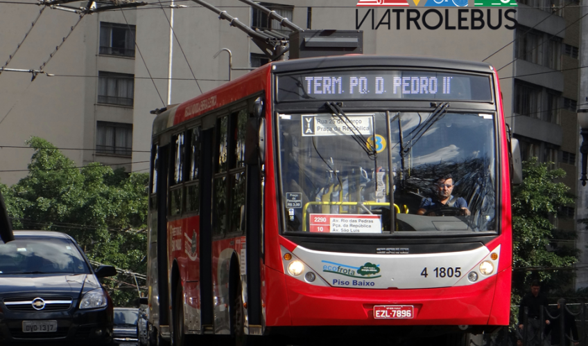 Trólebus 4 1805 - Ambiental Transportes - São Paulo/SP
