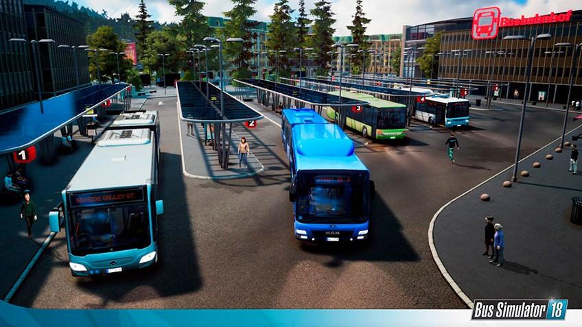 anunciado bus simulator 18 para ps4 e xbox one via. Black Bedroom Furniture Sets. Home Design Ideas