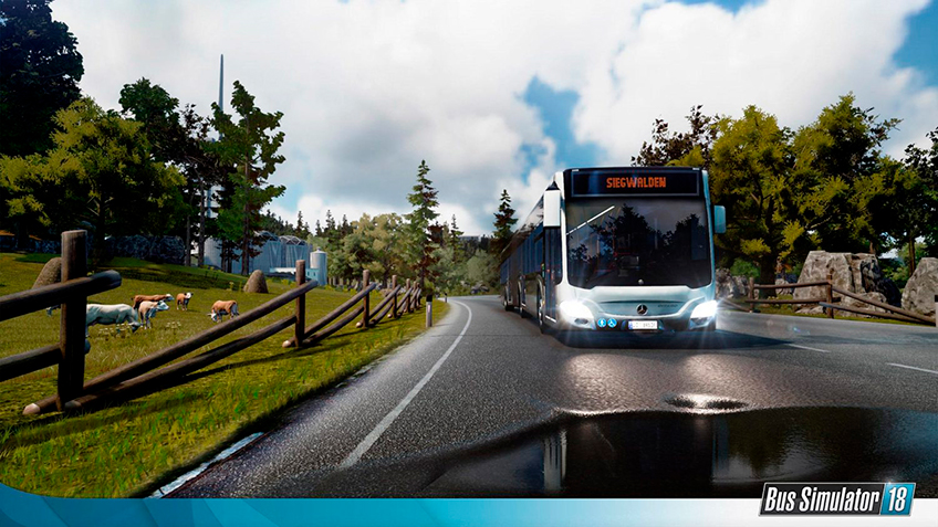 anunciado bus simulator 18 para ps4 e xbox one via trolebus. Black Bedroom Furniture Sets. Home Design Ideas