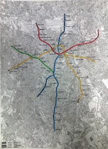 Projeto percussor do Metrô de São Paulo